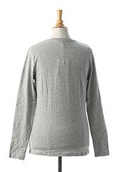 T-shirt manches longues gris NAME IT pour fille seconde vue