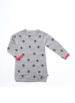 Robe pull gris BILLIEBLUSH pour fille