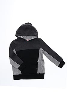 Sweat-shirt gris BOBOLI pour garçon