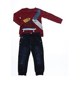 Top/pantalon bleu BOBOLI pour garçon