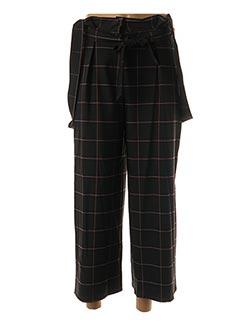 Pantalon casual noir EDAS pour femme