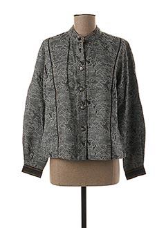 Veste casual gris JAC JAC pour femme