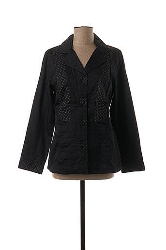Veste chic / Blazer noir JAC JAC pour femme