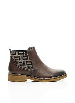 Bottines/Boots marron FUGITIVE BY FRANCESCO ROSSI pour femme