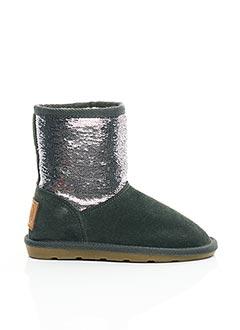 Bottines/Boots gris LES TROPEZIENNES PAR M.BELARBI pour fille