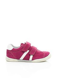 Baskets rose NOËL pour fille