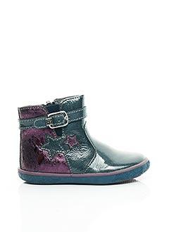 Bottines/Boots violet NOËL pour fille