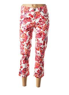 Pantalon 7/8 rouge CMK pour femme