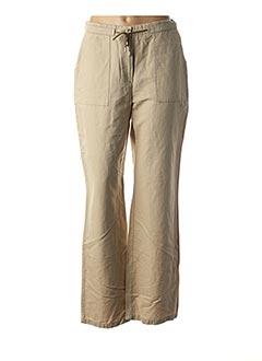 Pantalon casual beige MY WAY pour femme