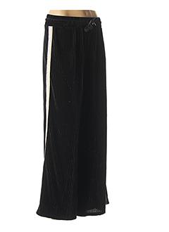 Pantalon casual noir DDP pour femme