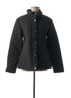Manteau court noir J.STARS pour femme
