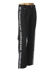 Pantalon casual noir CALVIN KLEIN pour femme seconde vue