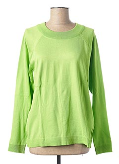 Pull col rond vert STREET ONE pour femme