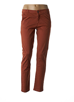 Pantalon casual marron PAKO LITTO pour femme