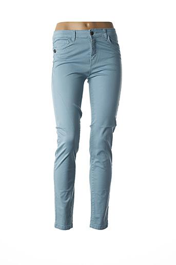 Pantalon casual bleu PAKO LITTO pour femme