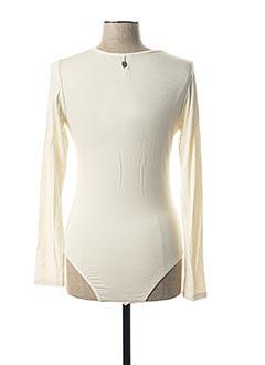 Body beige PAKO LITTO pour femme