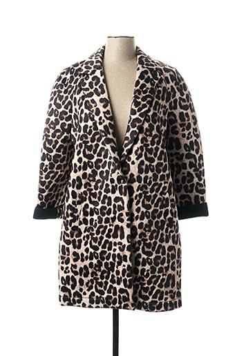 Manteau long beige IMPERIAL pour femme