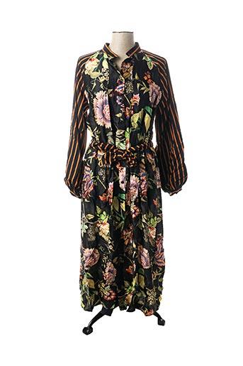 Robe longue noir DIXIE pour femme