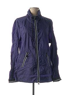 Veste casual bleu CREENSTONE pour femme