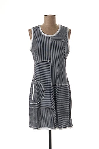 Robe mi-longue bleu DOLCEZZA pour femme