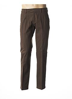 Pantalon chic marron HATTRIC pour homme
