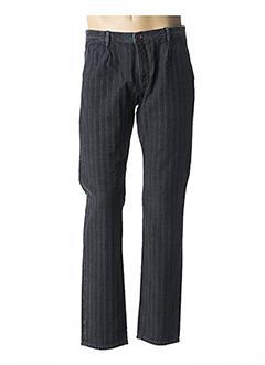 Pantalon chic noir PIONEER pour homme