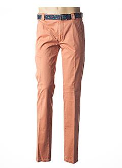 Pantalon chic orange MEYER pour homme