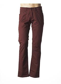 Pantalon casual rouge HATTRIC pour homme