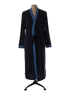 Robe de chambre bleu HAJO pour homme