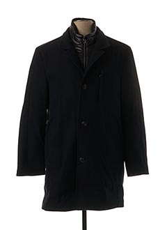 Manteau long bleu JUPITER pour homme