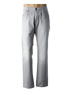 Jeans coupe droite gris CALAMAR pour homme