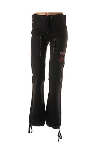 Pantalon casual noir BLONDIE pour femme