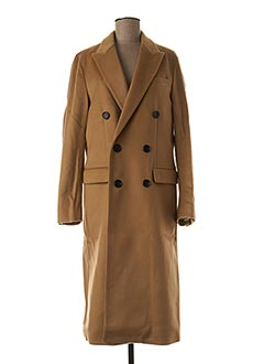 Manteau long marron BURBERRY pour femme