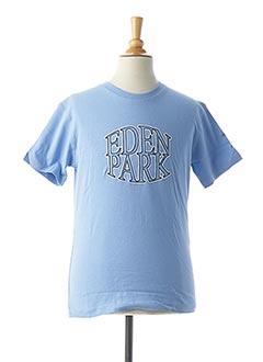 T-shirt manches courtes bleu EDEN PARK pour garçon