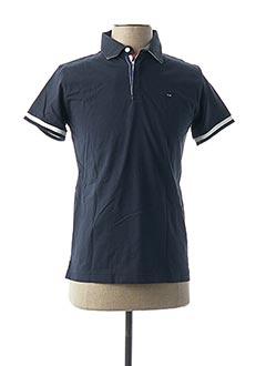Polo manches courtes bleu EDEN PARK pour garçon