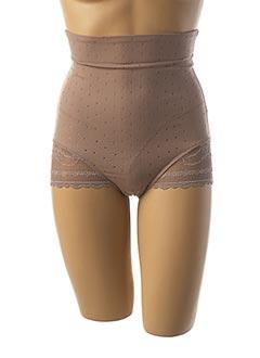 Culotte gainante marron TRIUMPH pour femme