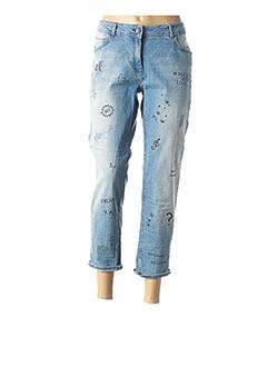 Jeans boyfriend bleu CECIL pour femme