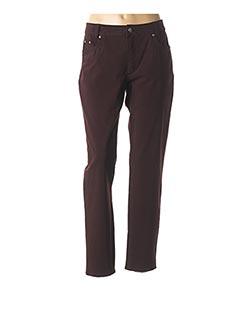 Pantalon casual rouge ANNA MONTANA pour femme