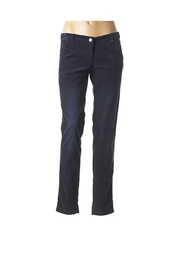 Pantalon casual bleu TOM TAILOR pour femme