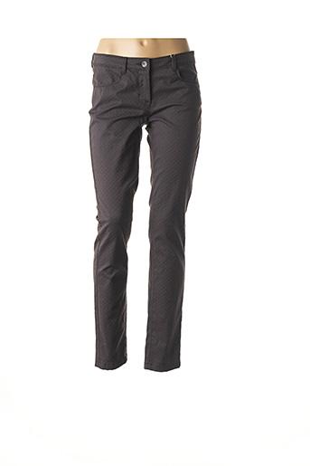 Pantalon casual gris TOM TAILOR pour femme