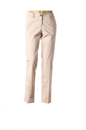 Pantalon casual rose TOM TAILOR pour femme