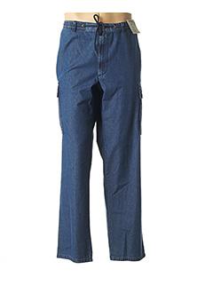 Jeans coupe droite bleu SEA BARRIER pour homme