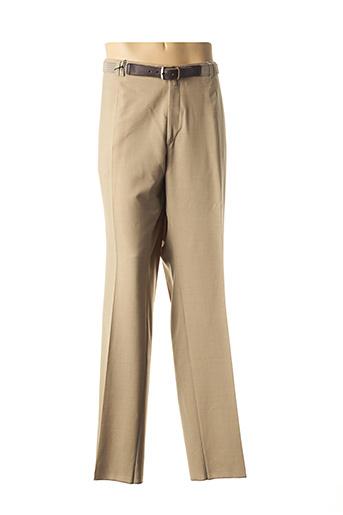 Pantalon chic beige NINO LORETTI pour homme