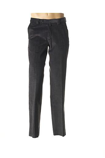Pantalon chic gris COSSERAT pour homme
