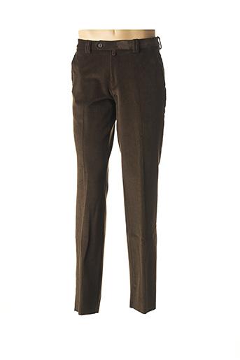 Pantalon chic vert COSSERAT pour homme