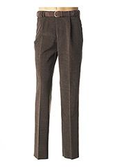 Pantalon chic marron BECKER pour homme seconde vue