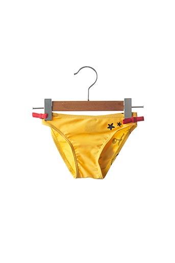 Bas de maillot de bain jaune KALAÏS pour fille
