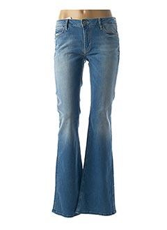 Jeans bootcut bleu REIKO pour femme