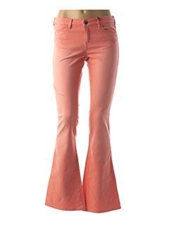 Jeans bootcut orange SCOTCH & SODA pour femme