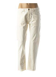 Jeans boyfriend beige TRUE NYC pour femme